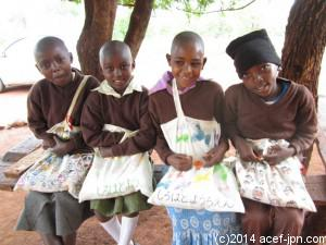 マキマ エイズ感染孤児施設「希望の家」の子ども達
