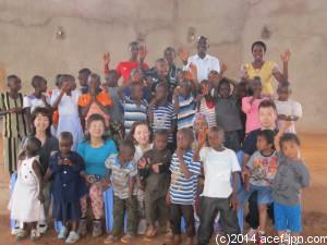エイズ孤児院の子ども達